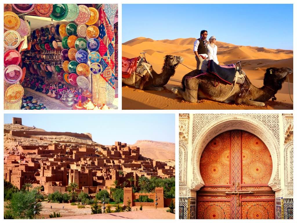 Collage Marocco