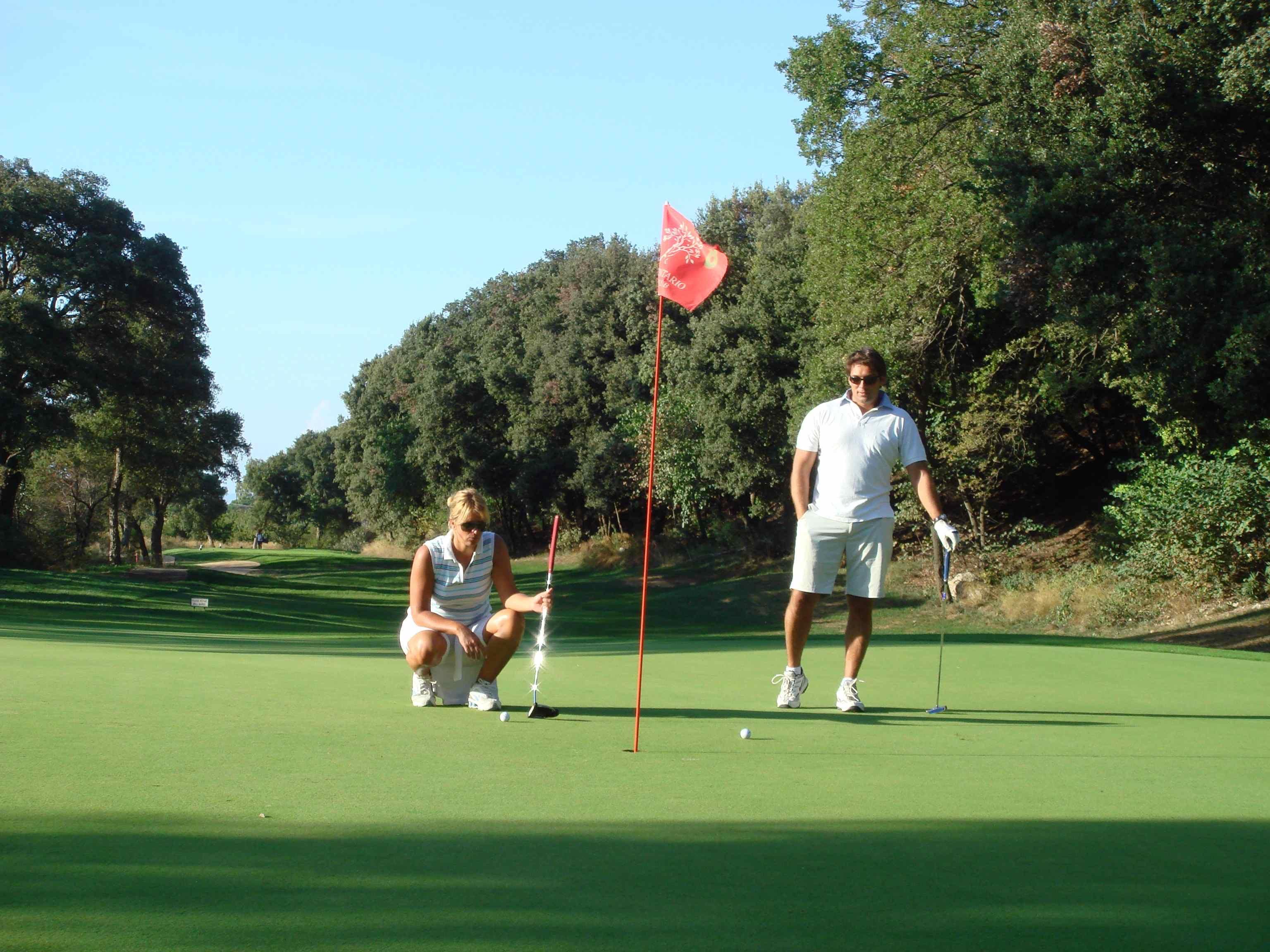 Golf Argentario buca 8 2