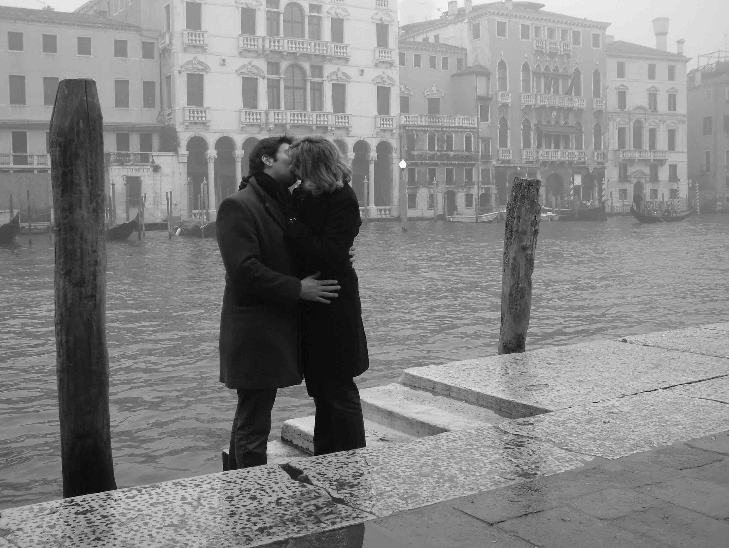 bacio a venezia