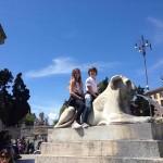 Roma, vista con gli occhi di 2 bambini: Viky & Alex