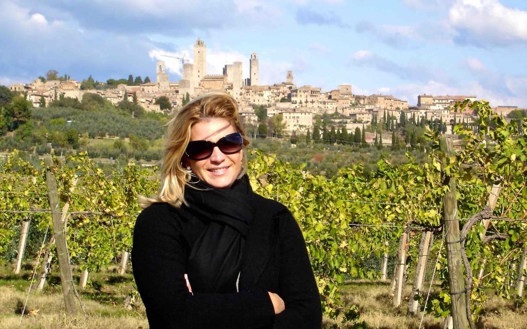 Miky a San Gimignano 2