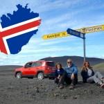 Islanda on the road – La mappa del nostro tour faidate